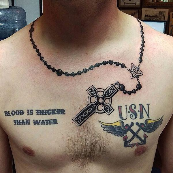best rosary tattoos