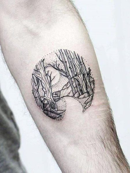 small tattoos for men with meaning