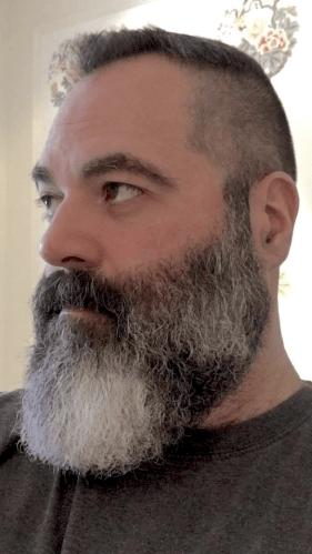 best not fully grown beard with short hair