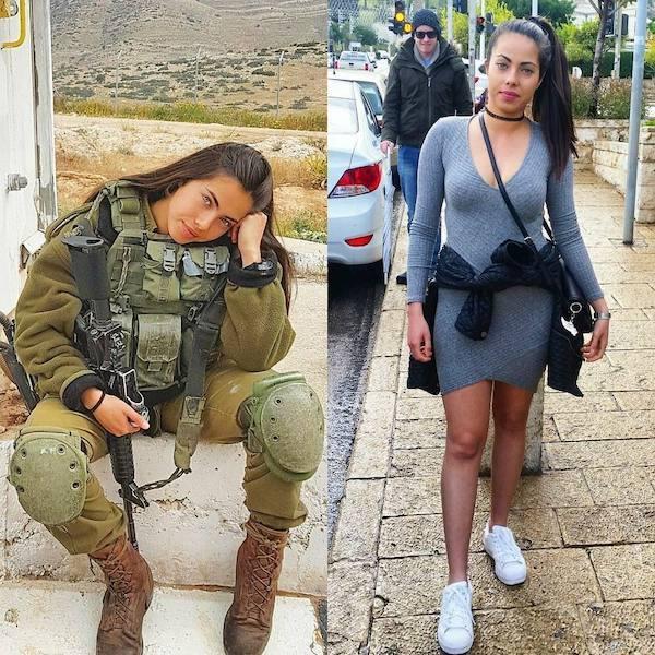 hot army women gorgeous body part