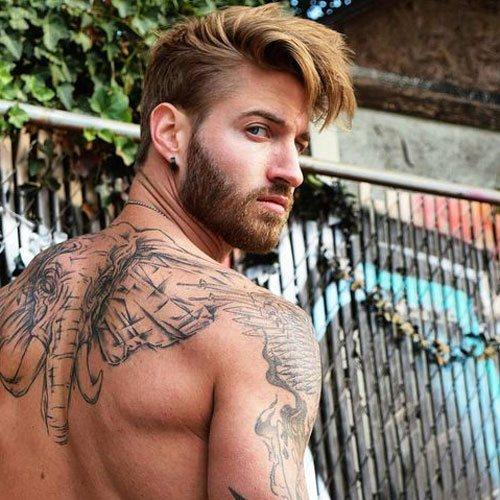 short full beard length forms for male