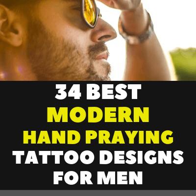 34 BEST MODERN HAND PRAYING TATTOO DESIGNS FOR MEN