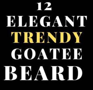 TRENDY GOATEE BEARD STYLES