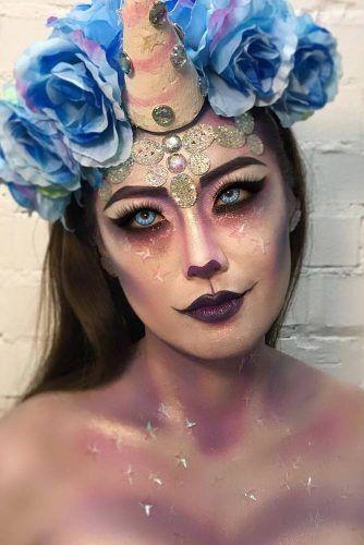 unicorn makeup looks ideas