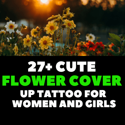 CUTE FLOWER COVER UP TATTOO