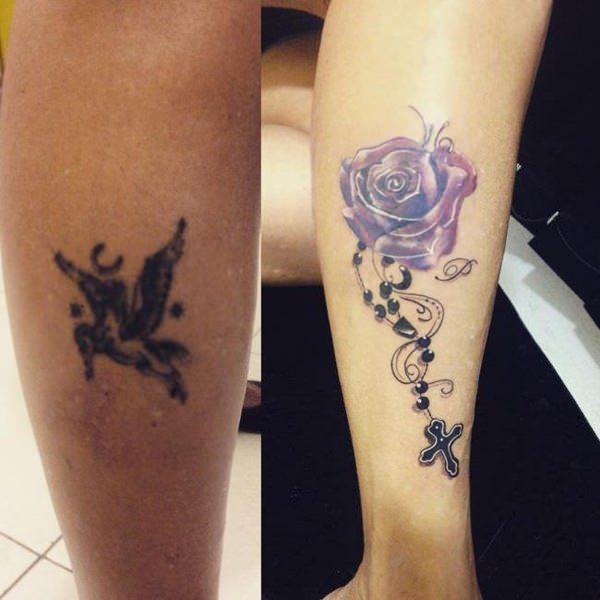 ideas about beautiful cover up flowers tattoo on arm