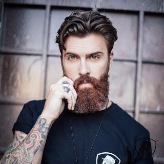 short mustache long goatee