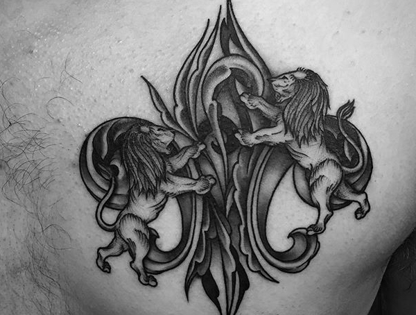 best meaningful tattoos for boys on chest