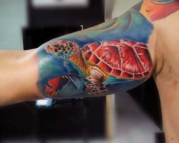turtle tattoos meaning