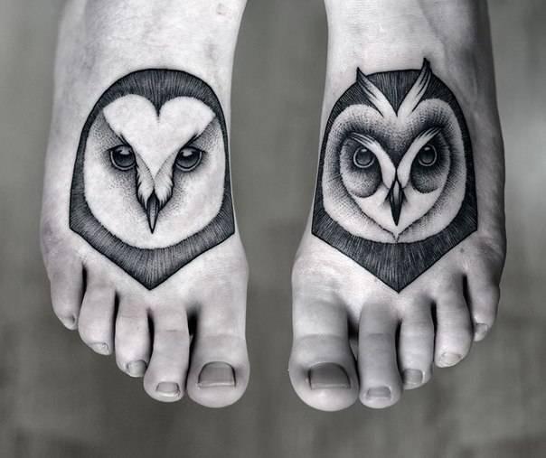 small bird cover up foot tattoo designs