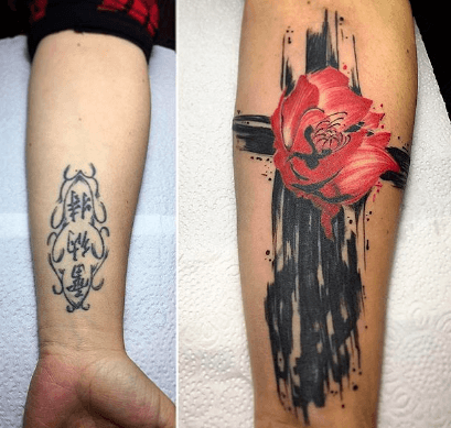 COVER UP TATTOO FOR WOMEN