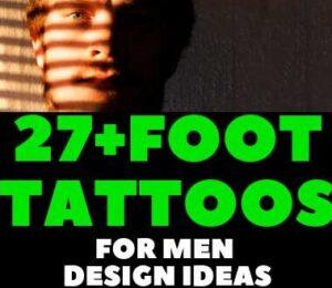FOOT TATTOOS FOR MEN DESIGN