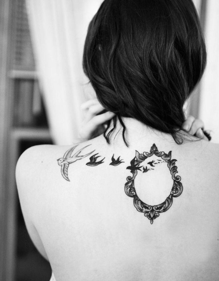 tribal tattoos for women's lower back