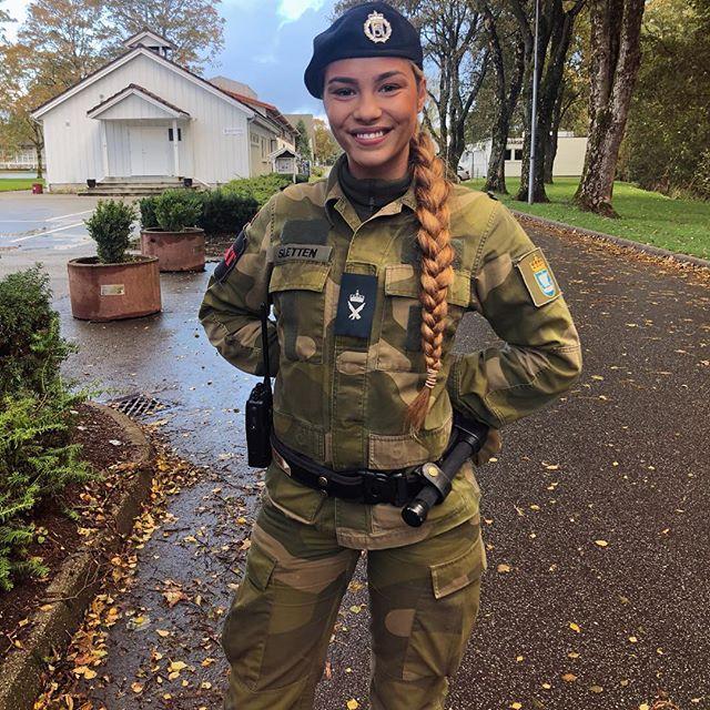 NORWEGIAN AIR FORCE SOLDIER
