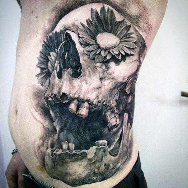 stomach tattoos designs