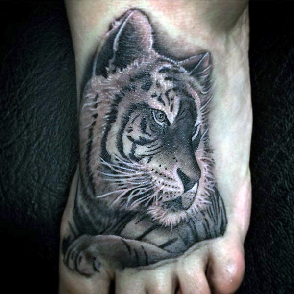 Foot tattoos are gaining popularity