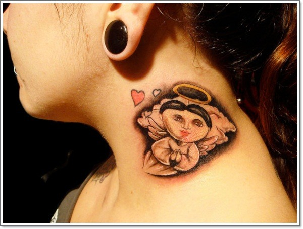 small mexican tattoo ideas on female neck images 2021