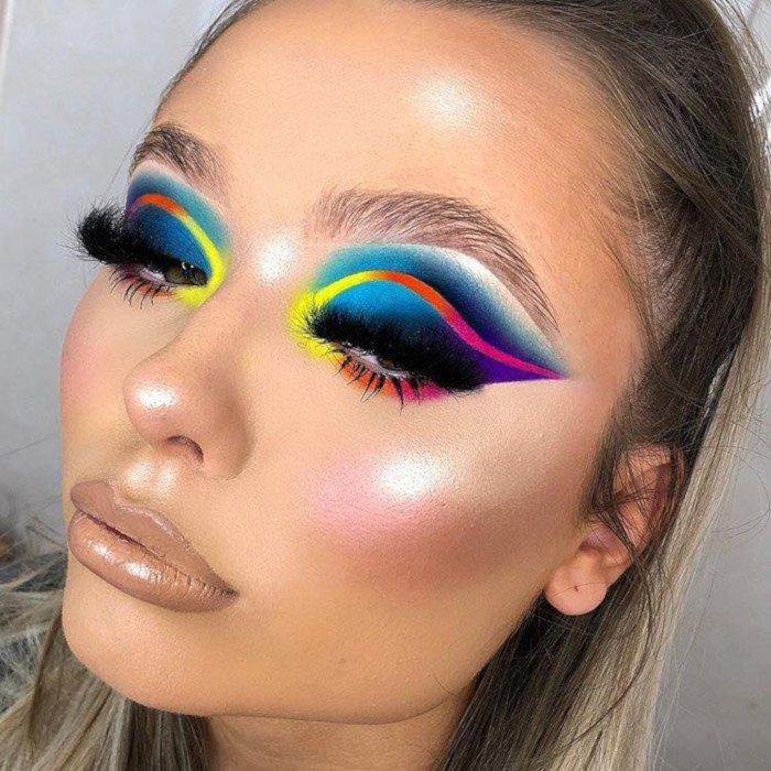 revolution rainbow palette