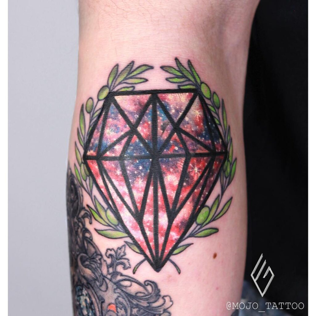 what does diamond tattoo mean
