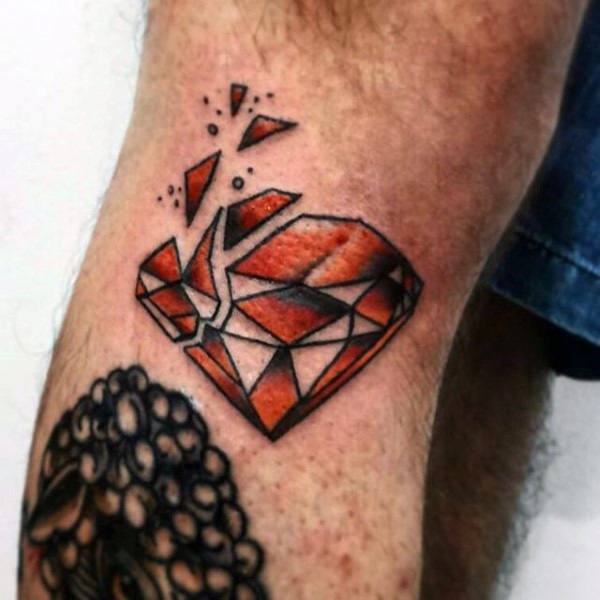 diamond tattoo traditional