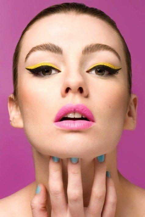 cool feline eyeliner images
