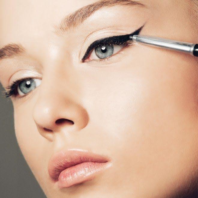 cat eye makeup look images