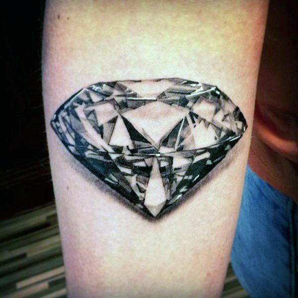black diamond arm tattoo for men in 2021
