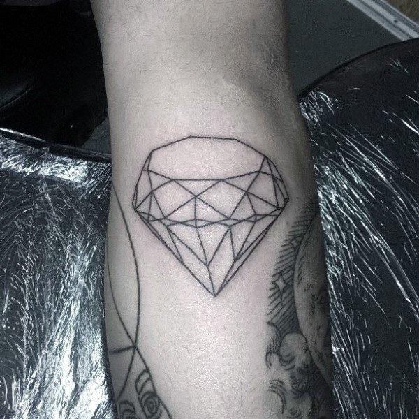 diamond arrow tattoo images