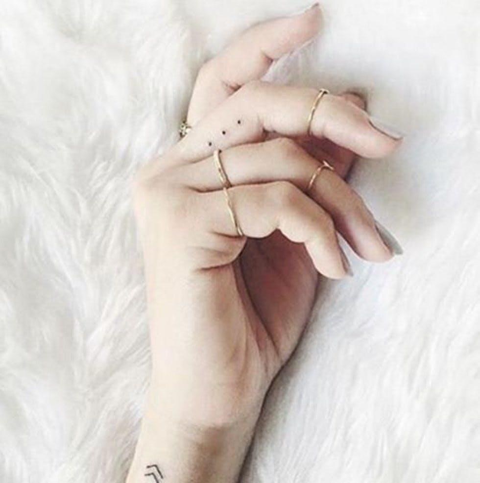 ladies finger tattoo design ideas in 2021