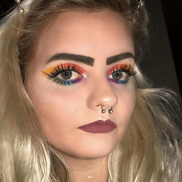 best matte rainbow eyeshadow palette