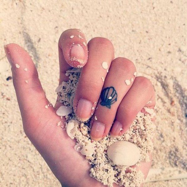 best small finger tattoos for ladies