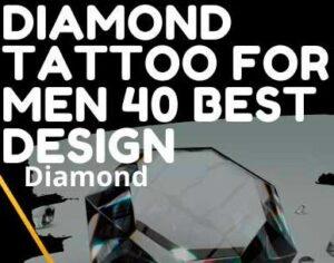 DIAMOND TATTOO FOR MEN 40  BEST DESIGN TREASURE