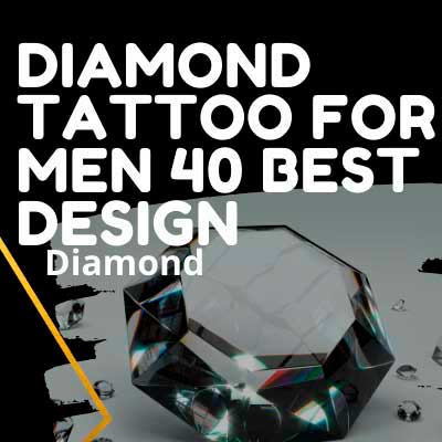 DIAMOND TATTOO FOR MEN