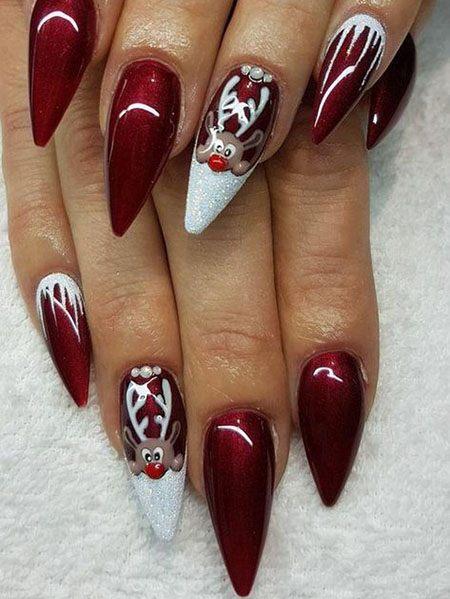 best winter nail colors for dark skin