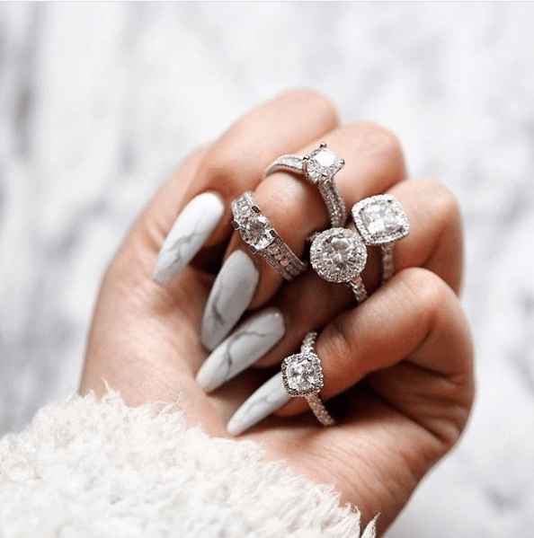 Marble Nail Art Designs We Love For Chic