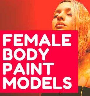 BEST 25 FEMALE BODY PAINT MODELS AMAZING DESIGNS