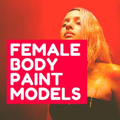 FEMALE BODY PAINT MODELS