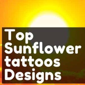 Top 40 Stunningly sun and sunflower tattoos Designs