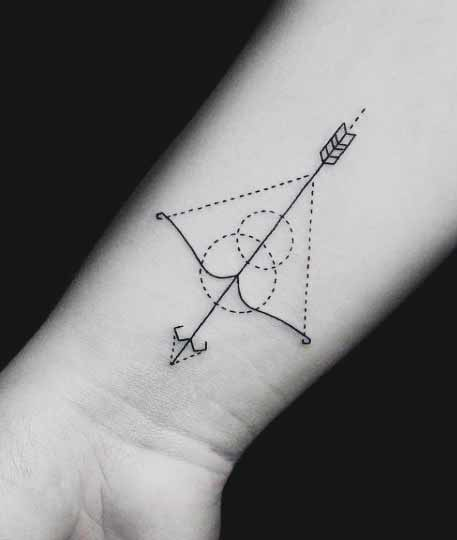 Simple Arrow Tattoo Designs For Men ideas