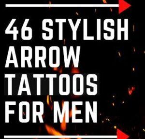 Top 46 STYLISH ARROW TATTOOS DESIGN FOR MEN