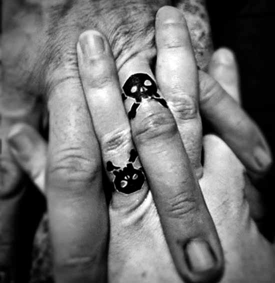 Imaganitve Finger Tattoo Designs For Boys