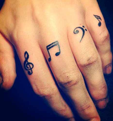 mens ring finger tattoo