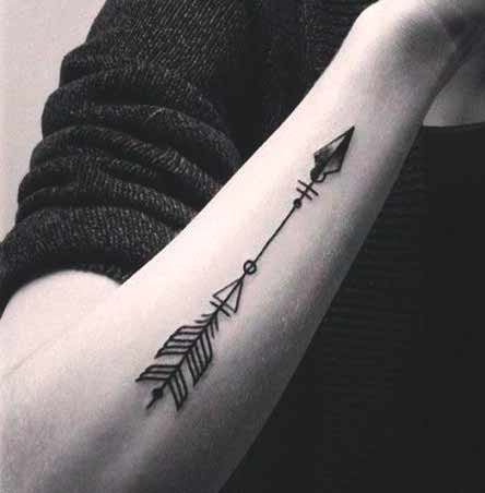arrow tattoo designs for you on arm