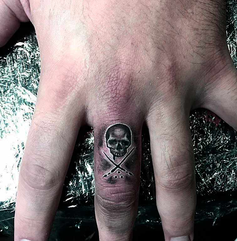 Crazy Skull Tattoos Designs