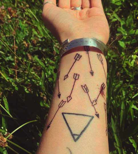 arrow tattoo meaning for guys