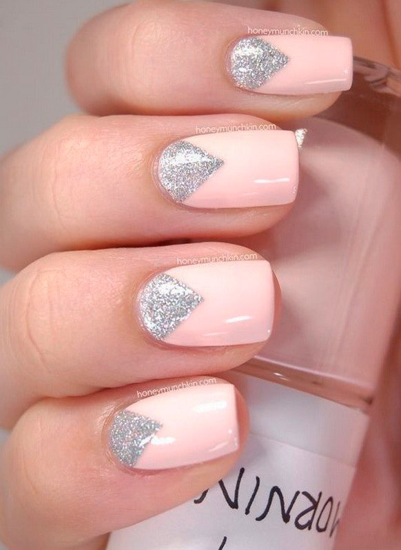 Best pink nail art images