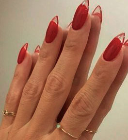 ideas about Red Nail Art