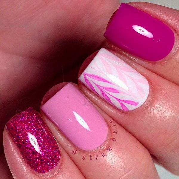 Super Cool Pink Nail Designs That Every Girl Will Love