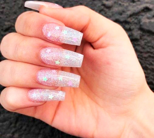simple acrylic nail designs