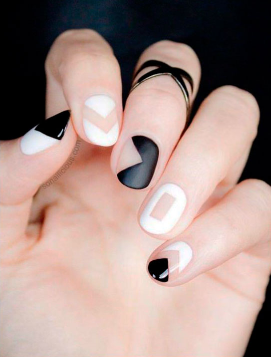 fake nails were a part of black